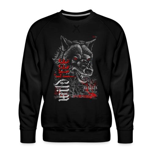 WILDFREE   WOLF - Männer Premium Pullover