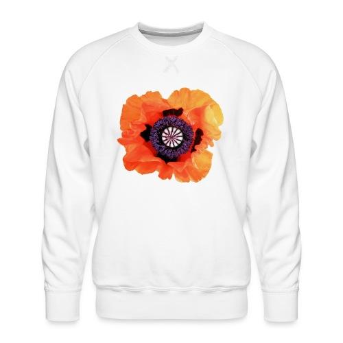 TIAN GREEN - Mohnblüte 2020 01 - Männer Premium Pullover