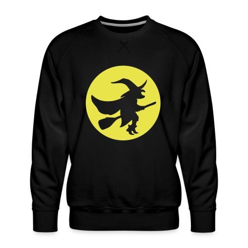hexe_1farbig - Männer Premium Pullover