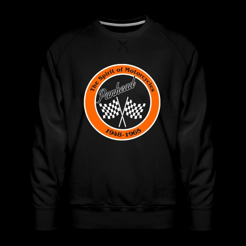 Zielflagge Panhead - Männer Premium Pullover