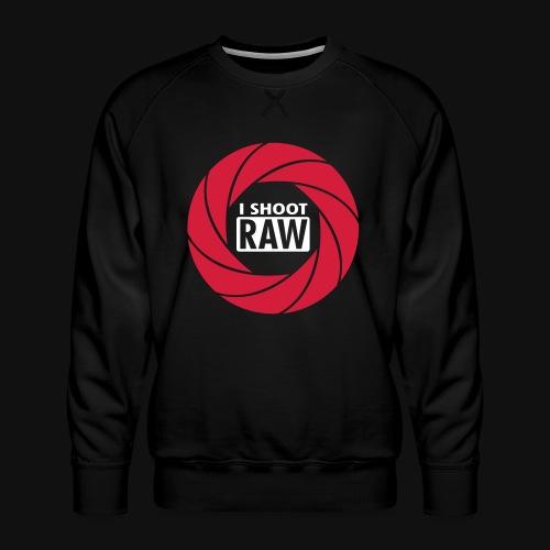 I SHOOT RAW - Männer Premium Pullover