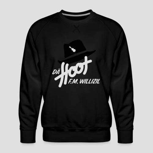 daeHoot_Shirt_Logo1_2c - Männer Premium Pullover