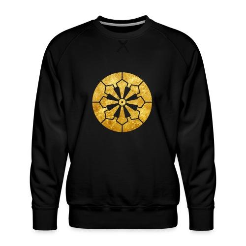 Sanja Matsuri Komagata mon gold - Men's Premium Sweatshirt