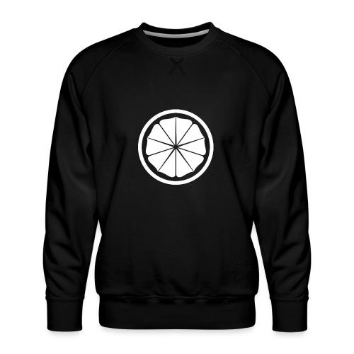 Seishinkai Karate Kamon white - Men's Premium Sweatshirt