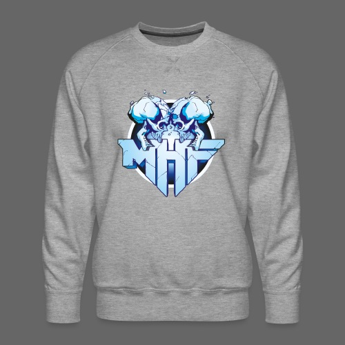 MHF New Logo - Men's Premium Sweatshirt
