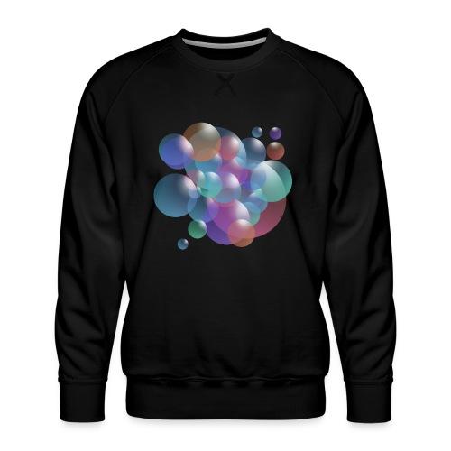 bubble - Männer Premium Pullover