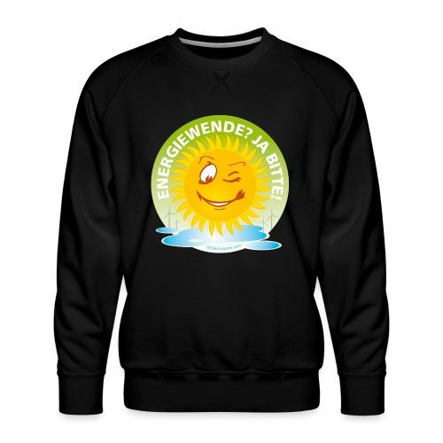 Energiewende Ja bitte - Männer Premium Pullover