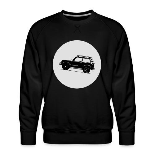Lada Niva Kreis - Männer Premium Pullover