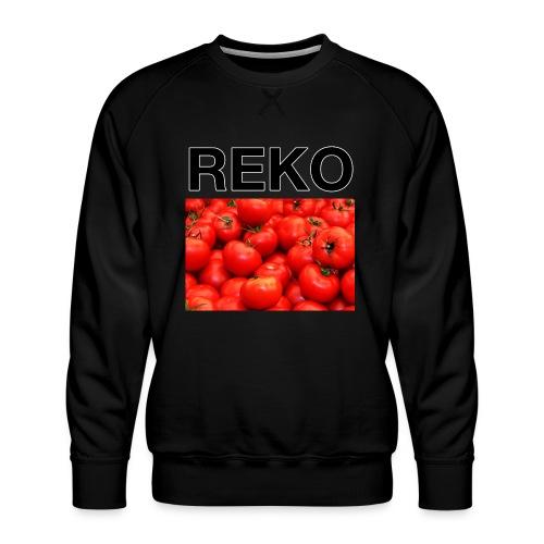 REKOpaita tomaatti - Miesten premium-collegepaita