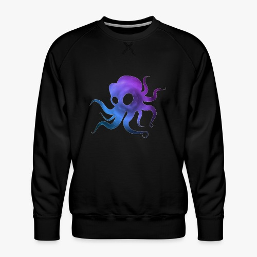 Space Squid - Herre premium sweatshirt