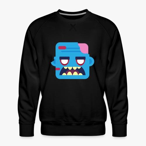 Mini Monsters - Zombob - Herre premium sweatshirt