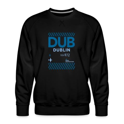 Dublin Ireland Travel - Men's Premium Sweatshirt
