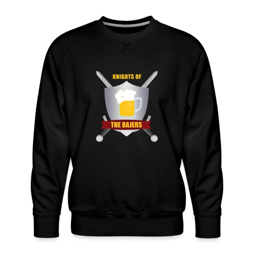 Knights of The Bajers - Herre premium sweatshirt