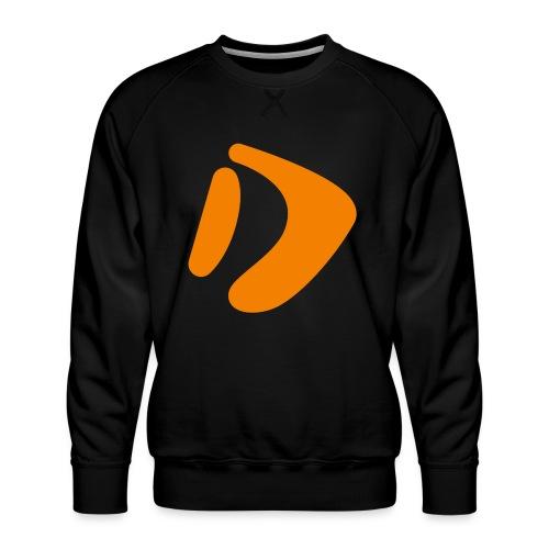 Logo D Orange DomesSport - Männer Premium Pullover