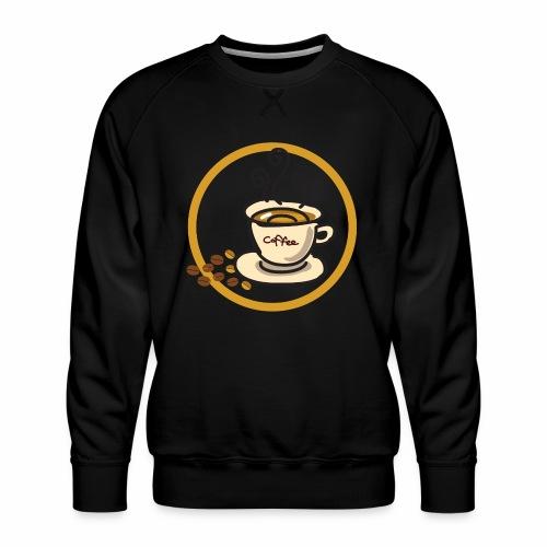 Kaffeeemblem - Männer Premium Pullover
