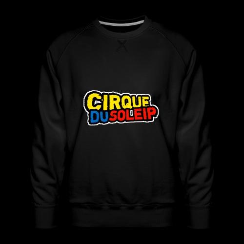 Cirque Du Soleip Letters - Mannen premium sweater