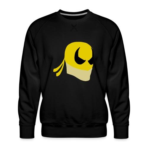 Iron Fist Simplistic - Men's Premium Sweatshirt