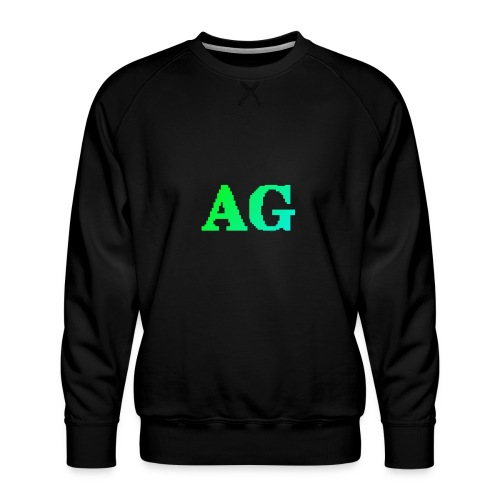 ATG Games logo - Miesten premium-collegepaita