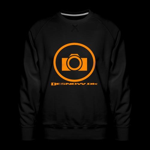 Orange 2 png - Herre premium sweatshirt