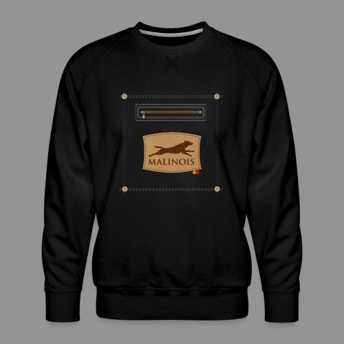 Belgian shepherd Malinois - Men's Premium Sweatshirt