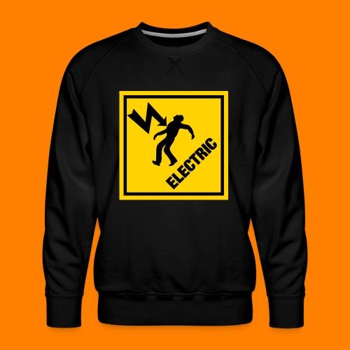 electric - Men's Premium Sweatshirt