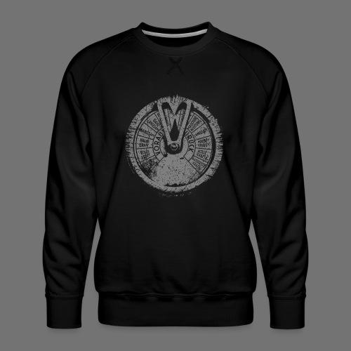 Maschinentelegraph (gray oldstyle) - Men's Premium Sweatshirt