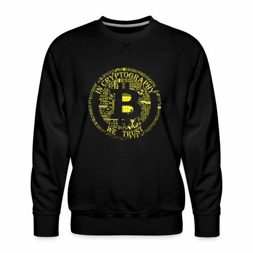 In cryptography we trust 2 - Men's Premium Sweatshirt