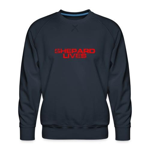 Shepard lives - Men's Premium Sweatshirt