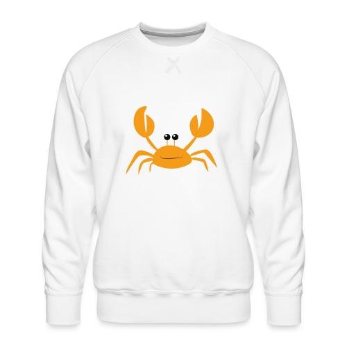 crab - Felpa premium da uomo
