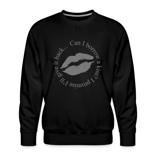 kiss - Herre premium sweatshirt