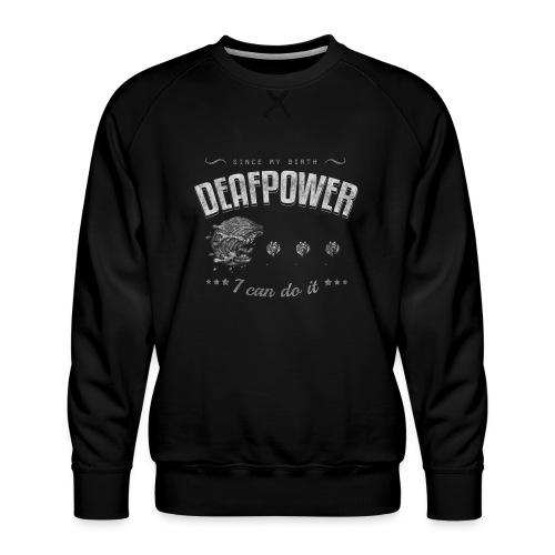 Deafpower Vintage - Männer Premium Pullover