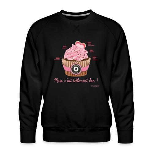 cupcake rose 2 - Sweat ras-du-cou Premium Homme