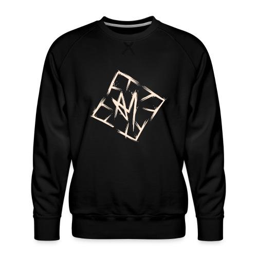 Across Yourself - Logo white transparent - Men's Premium Sweatshirt