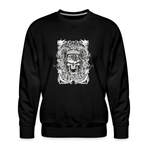 skull 7 - Felpa premium da uomo
