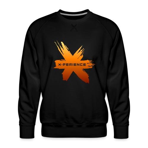 X-Perience Orange Logo - Männer Premium Pullover