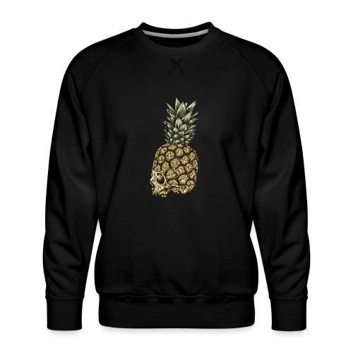 Skull kranium død - Ananas - Herre premium sweatshirt