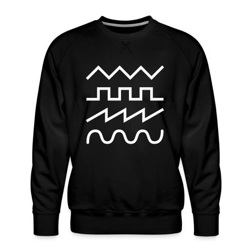 waveforms 02 - Männer Premium Pullover