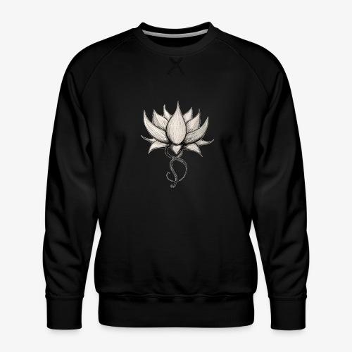 Lotus Original - Sweat ras-du-cou Premium Homme