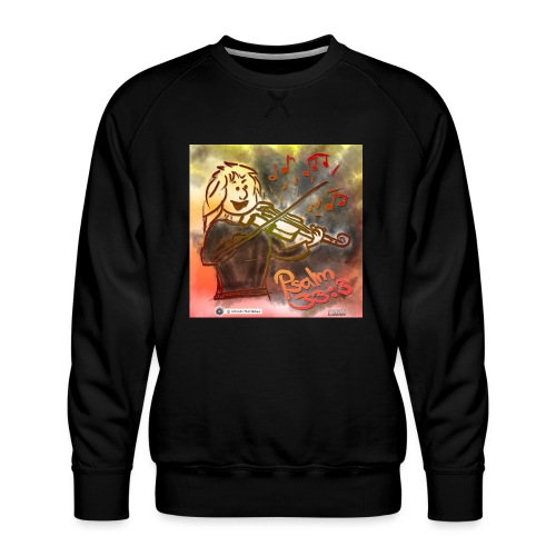 Design Geige Psalm 33 Vers 3 - auf Kleidung - Männer Premium Pullover