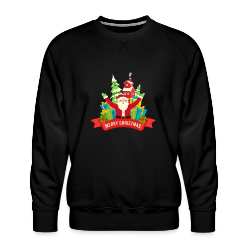 Santa Claus - Sudadera premium para hombre