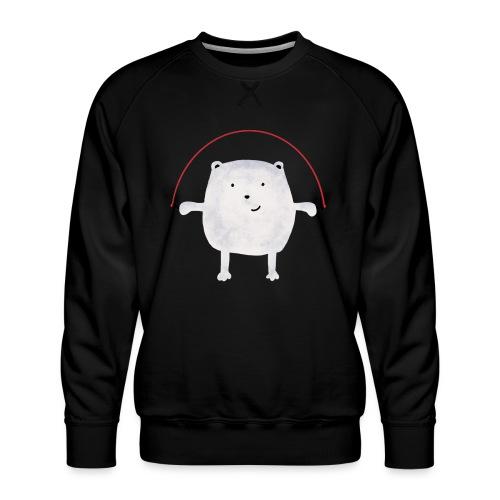 Jumping Monsta by #OneCreativeArts - Männer Premium Pullover