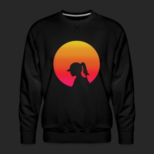 Gradient Girl - Men's Premium Sweatshirt