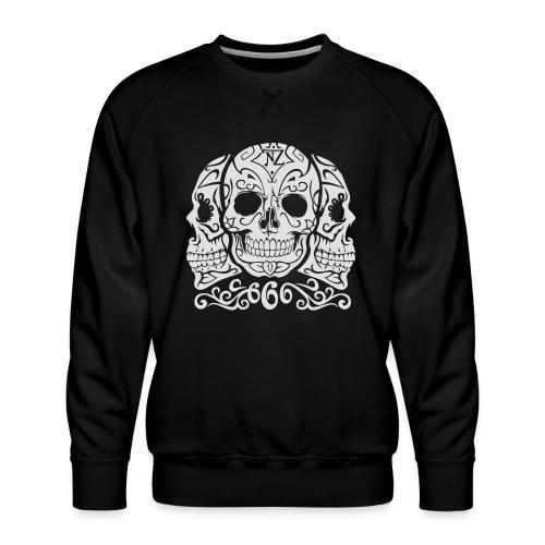 Skull Dia de los muertos - Sweat ras-du-cou Premium Homme
