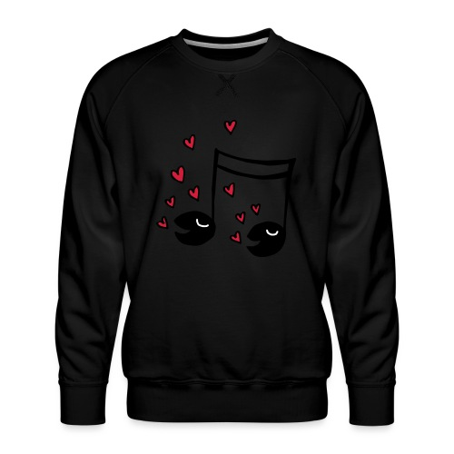 Love tunes - Männer Premium Pullover