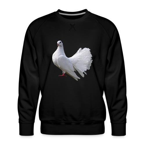 Taube Brieftaube Friedenstaube Vogel - Männer Premium Pullover