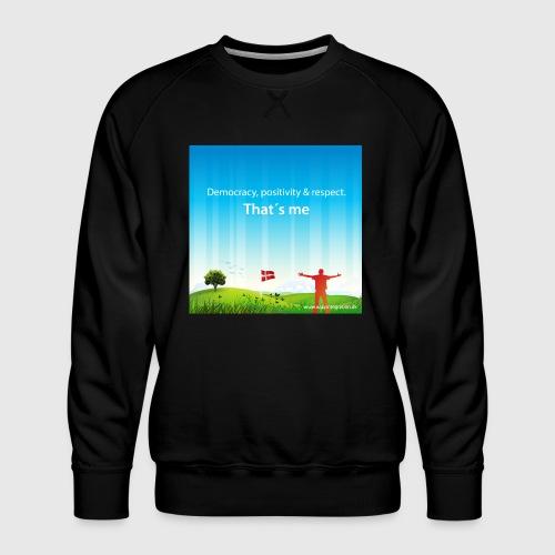 Rolling hills tshirt - Herre premium sweatshirt