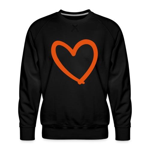 Heart Lines Pixellamb - Männer Premium Pullover
