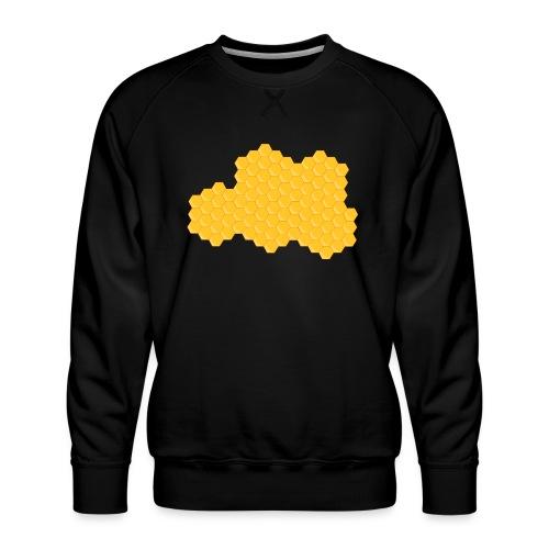 Bienenwabe - Männer Premium Pullover