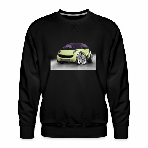 Smart, For two, Auto, Tuning, lustig - Männer Premium Pullover