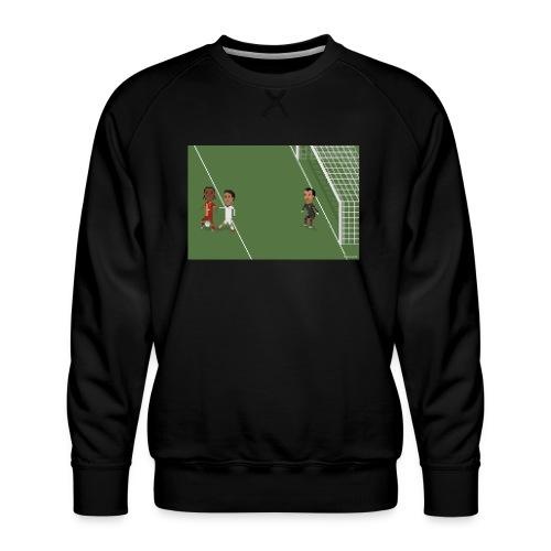 Backheel goal BG - Men's Premium Sweatshirt
